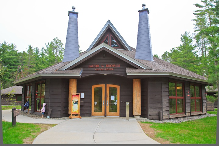 Jacob V. Brower Visitor Center, Itasca State Park