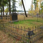 Pioneer Cemetery, located on Main Park Drive just south of the Boat Landing.
