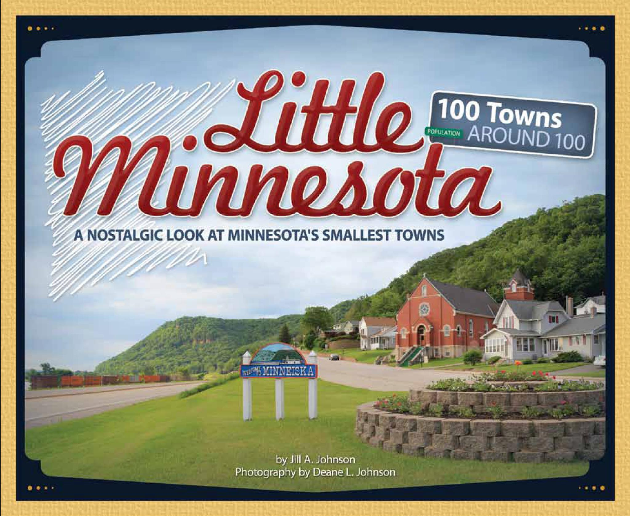 Little Minnesota Book by Jill A. Johnson and Deane L. Johnson